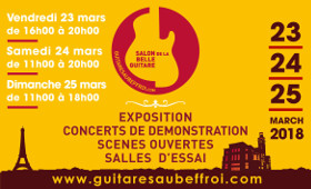 Salon de la belle guitare 2018