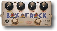 Pédale guitare Zvex Box Of Rock
