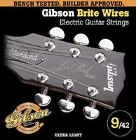 Corde Gibson Brites Wires SEG-700UL Ultra Light 9-42