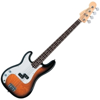 Basse gaucher Fender Precision Bass American S-1 Switch Rosewood Left Hand
