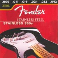 Corde Fender Stainless 350L 09-42