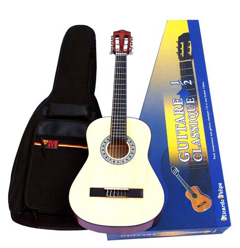 guitare ricardo f lipe guitare d 39 tude 1 2 pour enfant infos achat vente. Black Bedroom Furniture Sets. Home Design Ideas