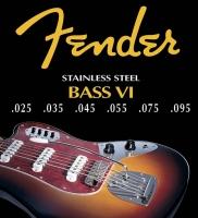 Corde Fender Stainless steel Bass VI 5350s