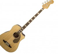 Basse acoustique & électro Fender California Kingman Bass SCE