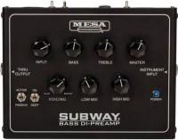 Multi-effet basse Mesa Boogie Subway Bass DI-Preamp
