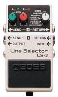 Footswitch / contrôle / sélecteur Boss LS-2 Line Selector