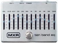 Footswitch / contrôle / sélecteur MXR M 108S Ten Band EQ