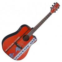 Guitare électro-acoustique Cort Fuel Motor Oil 2