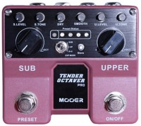 Pédale guitare Mooer Tender Octaver Pro