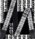 Sangle Dunlop Jimi Hendrix Logo JH05 Guitar Strap
