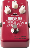 Pédale guitare EBS Drive Me Crazy - Hi Gain