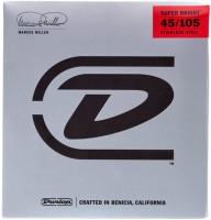Corde Dunlop Marcus Miller Super Bright Bass Strings 45-105