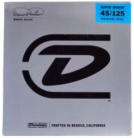 Corde Dunlop Marcus Miller Super Bright Bass Strings 5-Set 45-125
