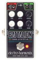 Multi-effet basse Electro Harmonix Nano Battalion - Bass Pre/Drive