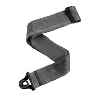 D'addario Auto Lock Strap Metal Grey