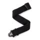 Sangle D'addario Auto Lock Strap Black Padded Stripes