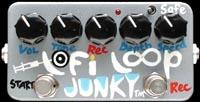Pédale guitare Zvex LO-FI Loop Junky