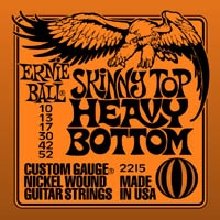 Ernie Ball Slinky skinny top - heavy bottom 10-52