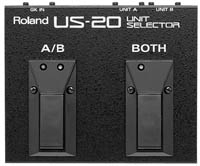 Footswitch / contrôle / sélecteur Roland US-20