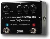 Pédale guitare MXR MC 402 Boost Overdrive