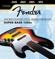 Corde Fender Super Bass 7250s M 45-105