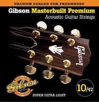 Corde Gibson Masterbuilt Premium 10-47 Super Ultra Light