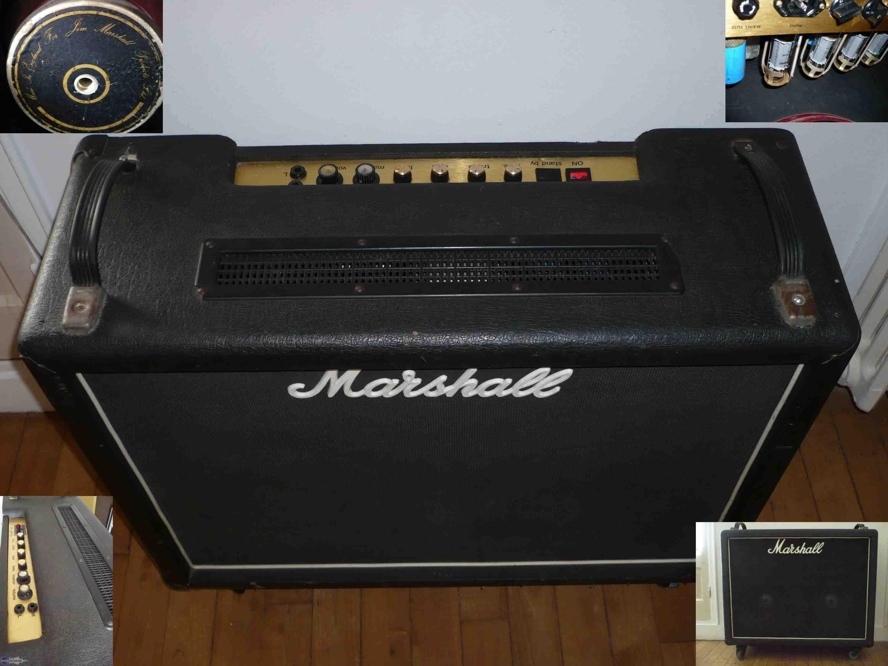 ampli marshall 100w tout lampes de 1976 petite annonce. Black Bedroom Furniture Sets. Home Design Ideas