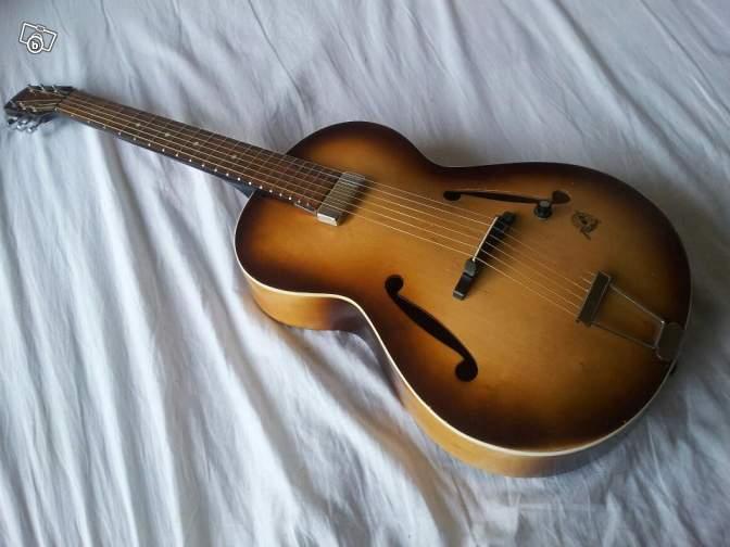 guitare framus vintage 70 39 s petite annonce. Black Bedroom Furniture Sets. Home Design Ideas