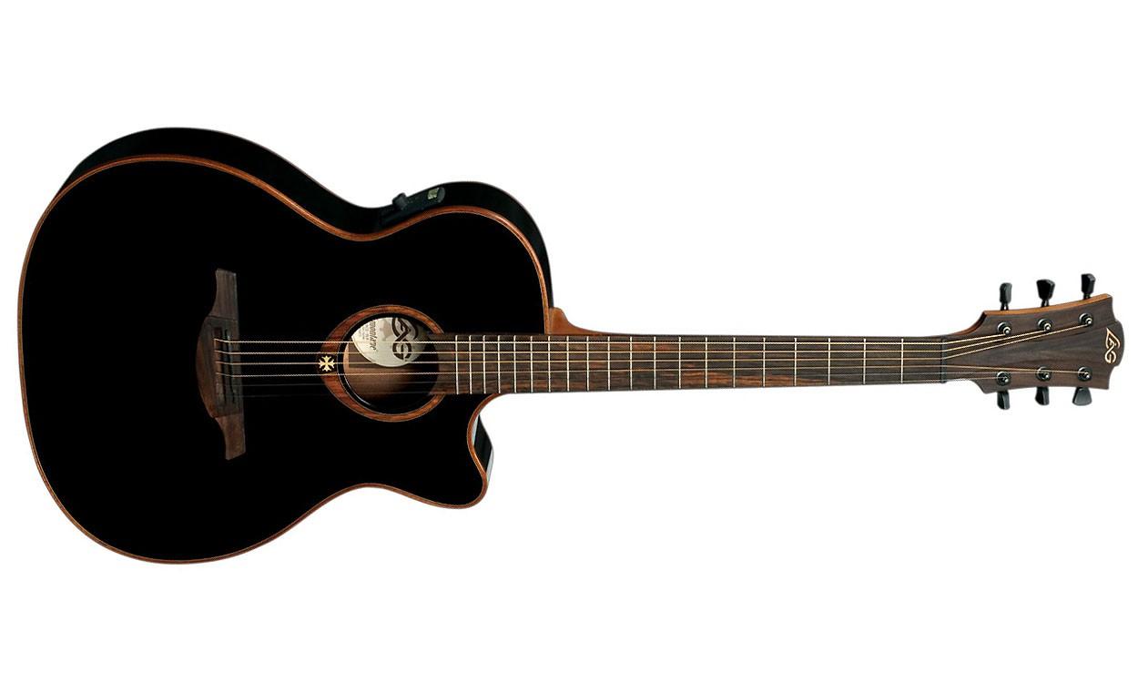 achat guitare lag tramontane t100ace. Black Bedroom Furniture Sets. Home Design Ideas
