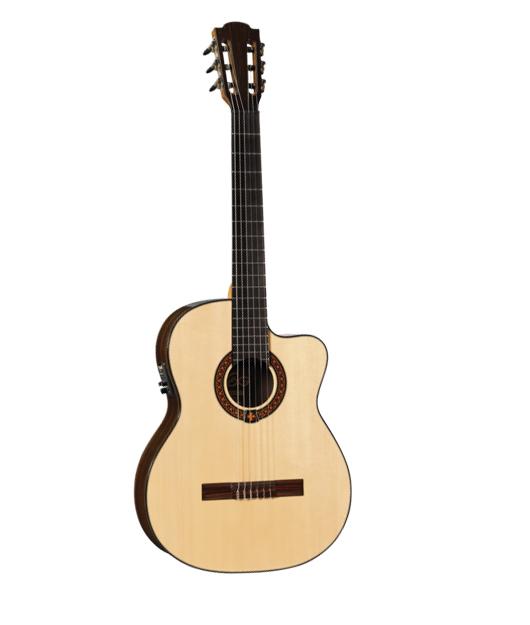 achat guitare electro acoustique lag comparer les prix. Black Bedroom Furniture Sets. Home Design Ideas