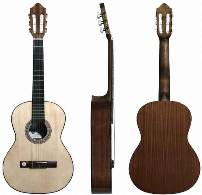 achat guitare classique pro arte comparer les prix pro. Black Bedroom Furniture Sets. Home Design Ideas