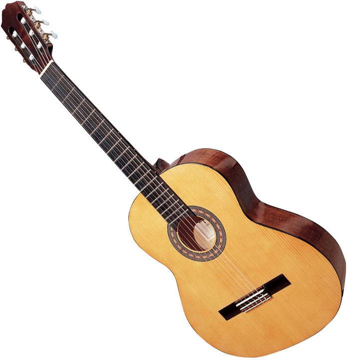 achat guitare santos y mayor comparer les prix santos y. Black Bedroom Furniture Sets. Home Design Ideas