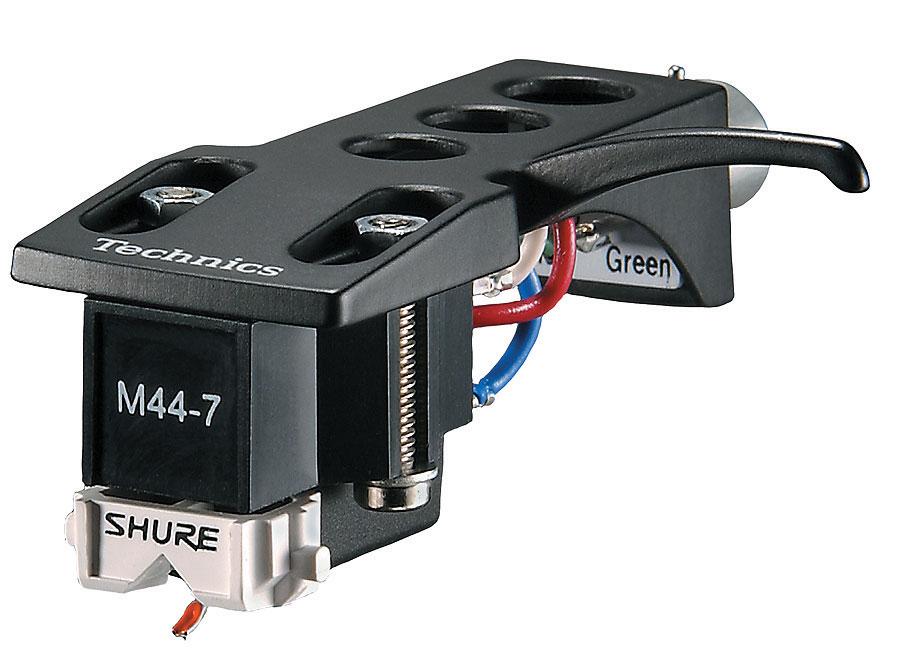 tête de lecture compatible avec platine numark tt1650 Shure-m-44-7-h-avec-porte-cellule-105886
