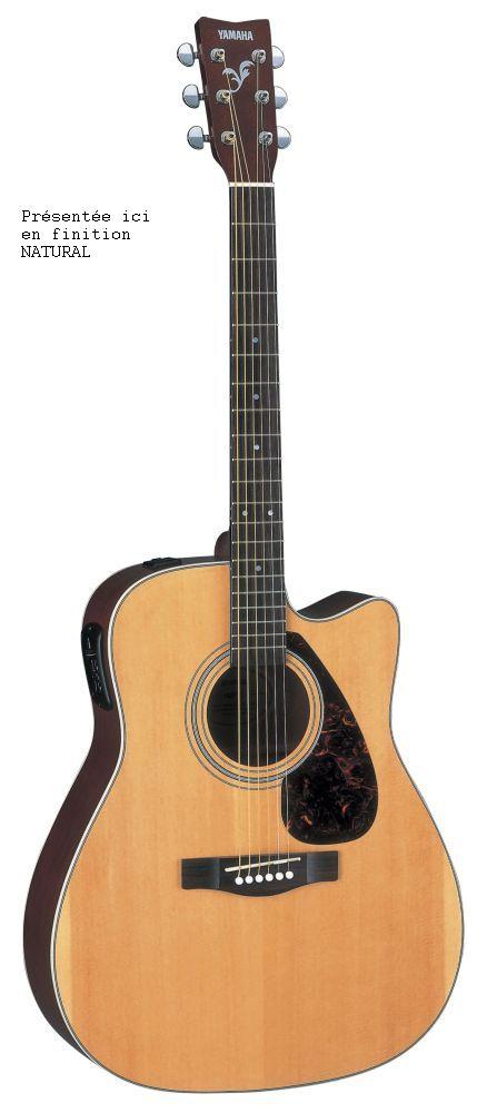guitare electro acoustique folk yamaha. Black Bedroom Furniture Sets. Home Design Ideas