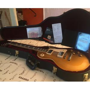 Vends Gibson Les paul GOLD TOP 57' Custom shop