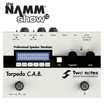 [Namm 2012] Two Notes Torpedo CAB