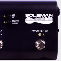P�dalier Soleman MIDI chez Source Audio