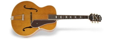 epiphone masterbuilt deluxe classic vintage natural