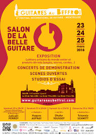 Le Salon de la Belle Guitare à Montrouge