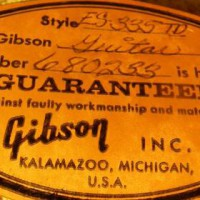 Comment dater une Gibson ?