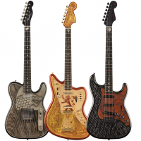 Fender sort les guitares Game of Thrones Sigil Collection
