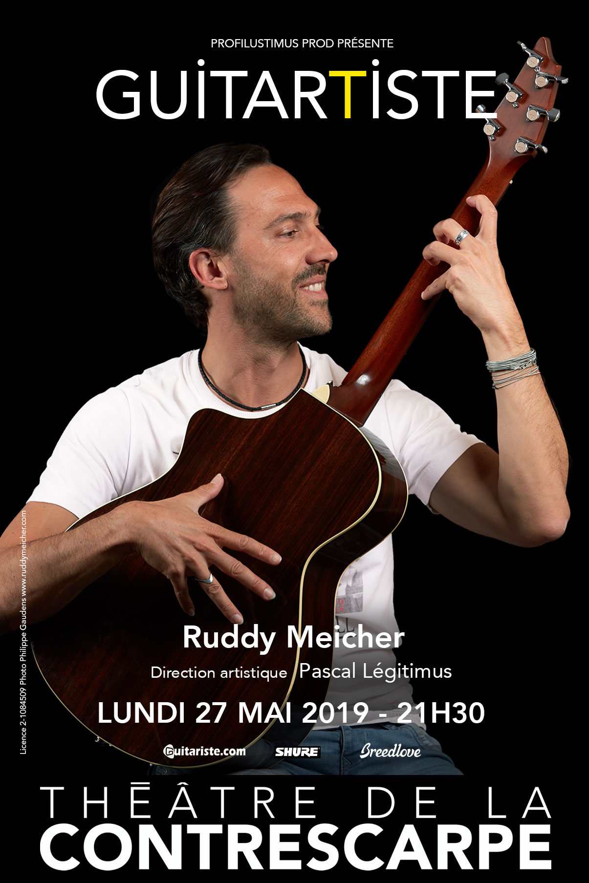 Interview de Pascal Legitimus et Ruddy Meicher (GuitarTiste)