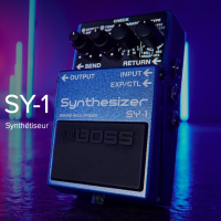 Boss SY-1 chargée de 121 sons de synthé
