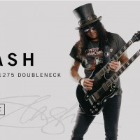 Gibson sort la Slash 1966 EDS-1275 Doubleneck