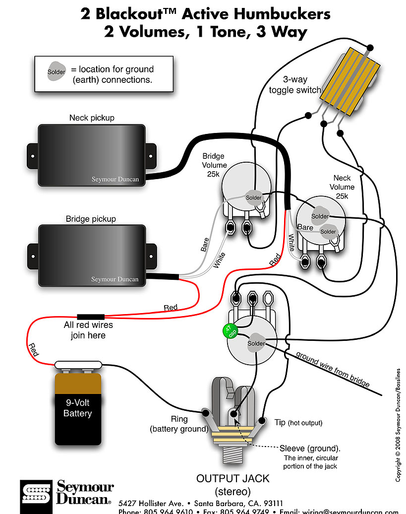 active strat wiring diagram emg pickup wiring annavernon wiring diagram for emg 81 85 pickups 1 tone volume home