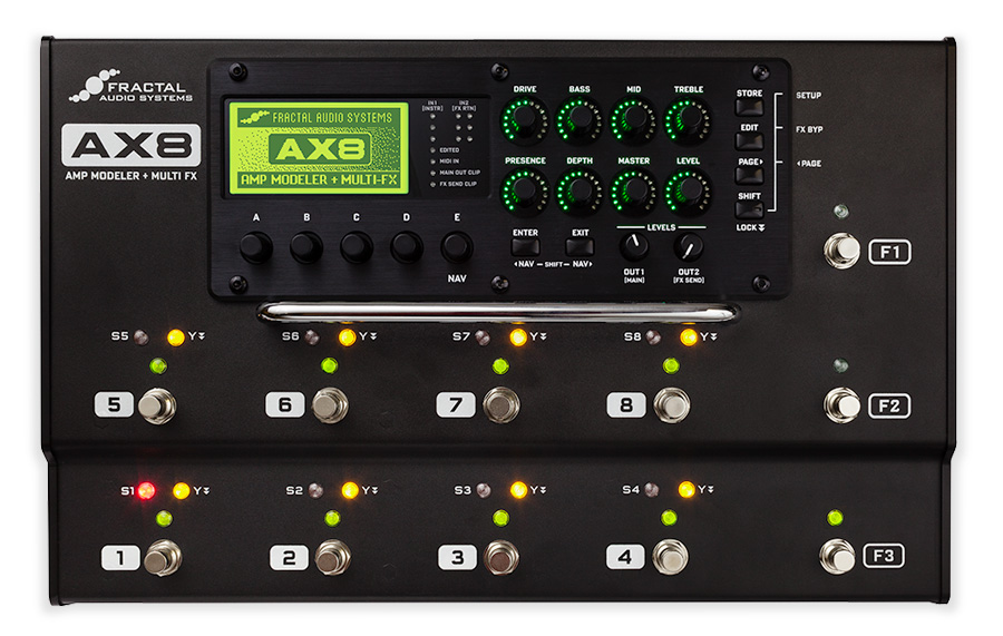 Fractal Audio Ax8 User S Club Effet Guitare