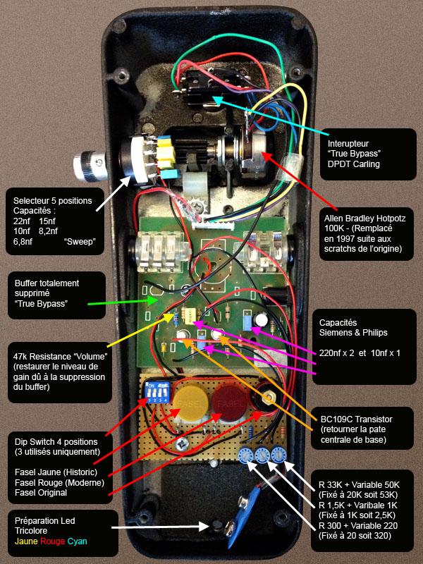 Mod Crybaby Gcb95 Pour La Transformer En 535q Photos