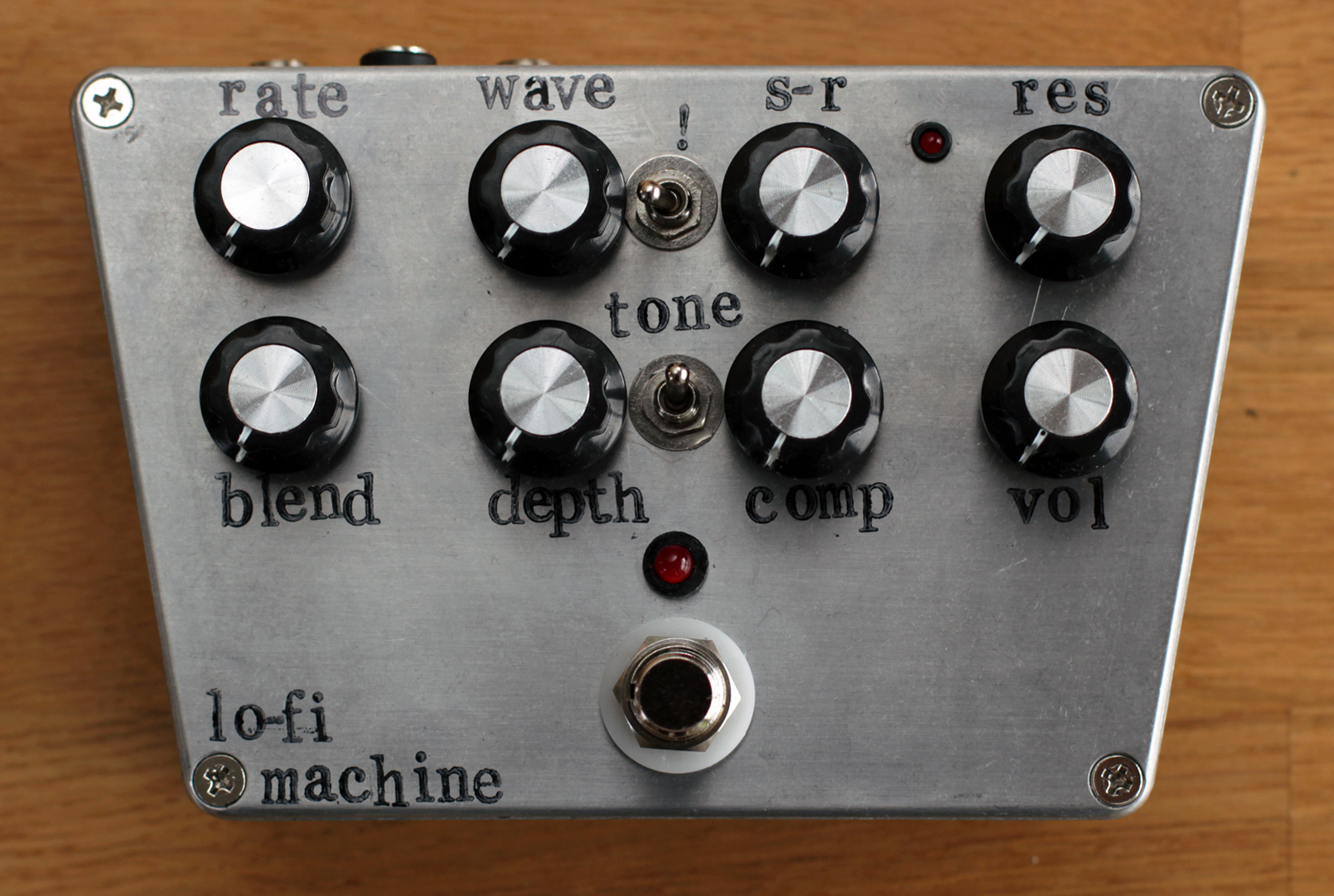Lo-fi Machine! (Comp, Pitch Pirate and Sonic Reducer)