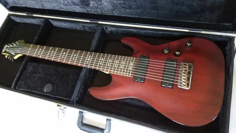 guitare electrique 8 cordes occasion