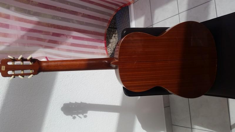 Guitare Esteve récupérée, vaut-il la peine de la réparer ...